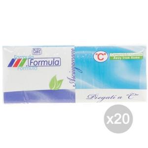 Set 20 Asciugamani Ac Formula X152 2 Veli Accessorio Per La Cucina E La Tavola