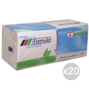 Set 20 Asciugamani Az Formula X143 2V. Rotocart Accessorio Per La Cucina E La Tavola