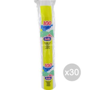 Set 30 ARISTEA 100 Bicchiere 200 Baio Bianc 218536 Accessorio Per La Cucina E La Tavola