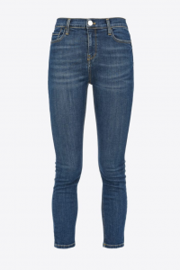 SHOPPING ON LINE PINKO  JEANS SKINNY IN DENIM BLUE STRETCH SABRINA NEW COLLECTION WOMEN'S FALL/WINTER 2022