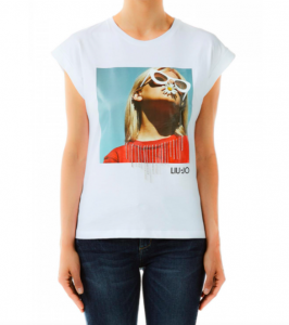 T-shirt stampata -LIU JO