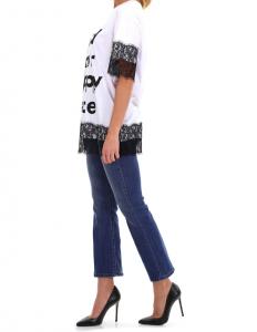 T-shirt con pizzo - TWIN SET