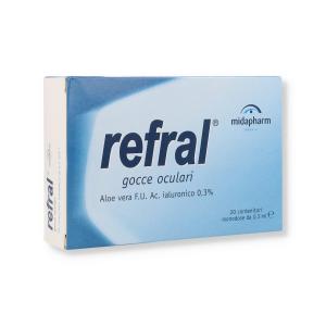 REFRAL MONODOSE  - 20 X 0,5ML