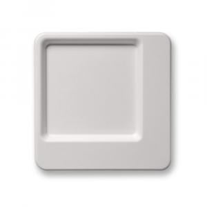 Piatto piano Design 24x24 - Linea Diamond