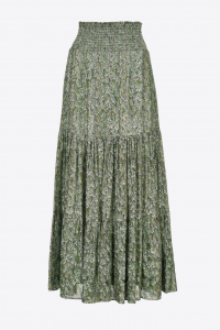 SHOPPING ON LINE PINKO MAXI GONNA STAMPA RETTILE ROUEN NEW COLLECTION WOMEN'S FALL/WINTER 2022