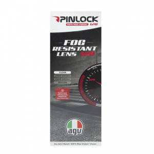 AGV Lente Max Pinlock 120 Race 3 Visor