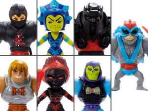 Masters of the Universe: ETERNIA MINIS Wave 1 Set of 7 Figures by Mattel