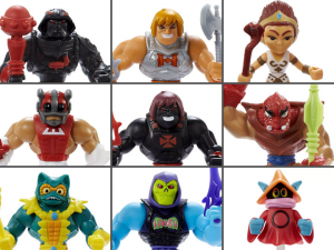 Masters of the Universe: ETERNIA MINIS Wave 2 Set of 9 Figures by Mattel