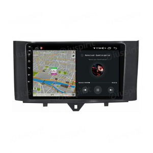 ANDROID autoradio navigatore per Smart Fortwo 2011-2013 CarPlay Android Auto GPS USB WI-FI Bluetooth 4G LTE