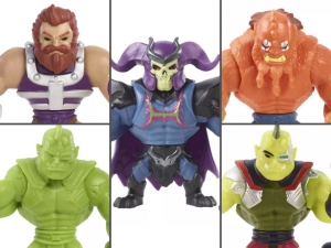 Masters of the Universe: ETERNIA MINIS Wave 3 REVELATION Set of 5 Figures by Mattel