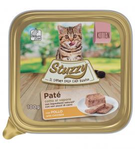 Stuzzy Cat - Patè - Kitten - 32 vaschette 100 g