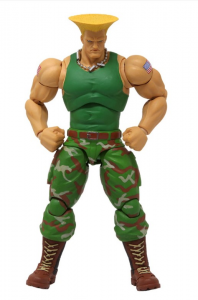Ultra Street Fighter II - The Final Challengers: GUILE 1/12 by Storm Collectibles