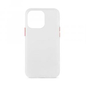 Foggy Custodia con retro semitrasparente per iPhone 13 Pro