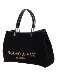 Emporio Armani Shopping Feltro e Vacchetta