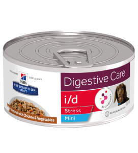 Hill's - Prescription Diet Canine - i/d Stress Mini Stew - 156g x 12 lattine