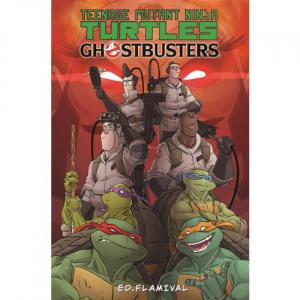 Fumetto: TEENAGE MUTANT NINJA TURTLES vs GHOSTBUSTERS (ITA) by Flamival