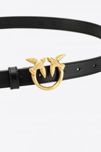 Cintura Love Berry Small Simply Waist Belt nera Pinko