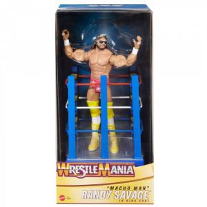 WWE WrestleMania: MACHO MAN Randy Savage Limited Edition by Mattel