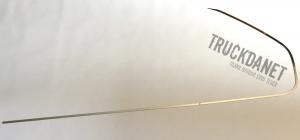Profili laterali finestrino in acciaio inox lucido. Adatti per IVECO S-WAY.