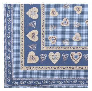 Tovaglia Copritavola Tirolese Galtex Style collezione St. Moritz Blu