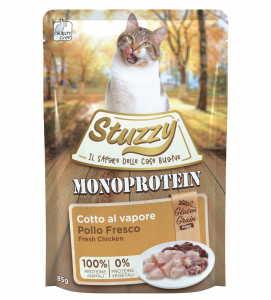 Stuzzy Cat - Monoprotein - Adult - 16 buste x 85g