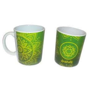 Tazza in ceramica & Tisana in foglie - 6° Chakra - Anahata