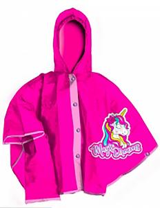Mantellina  Unicorno raimbow pioggia misure 3-4 anni 5-6 anni 7-8 anni