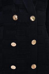 Robe-Manteau con Pattern Logo