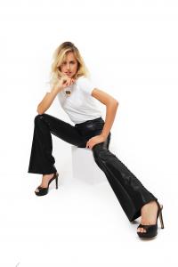 Pantalone a Zampa Ecopelle
