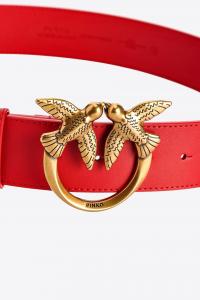 Cintura Love Berry Simply Belt H4 rossa Pinko
