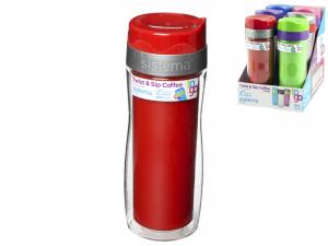 SISTEMA Bicchieri Polipropilene Coffee To Go Cc49 Articolo Per la Casa