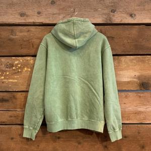 Felpa Iuter Disaster Hoodie con Cappuccio in Tie Dye Verde Chiaro