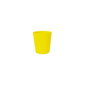 HOME Set 6 Bicchieri Melamina Giallo Cl25 Arredo Tavola