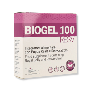 BIOGEL RESV 100MG 15 BUSTINE
