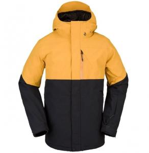 Giacca Volcom L-Gore-Tex Black Yellow