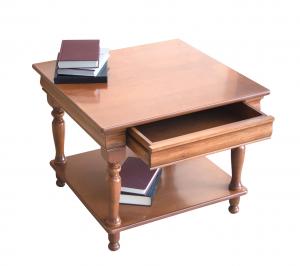 Tavolino quadro Luigi Filippo