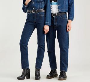 Jeans donna  LEVI'S 501 CROP SALSA STONEWASH