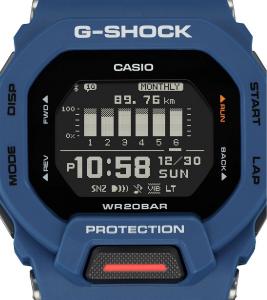 Casio G-Shock G-Squad, orologio digitale multifunzione, cassa blu