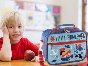 Lunch merenda box borsa frigo con tasca interna Pirati