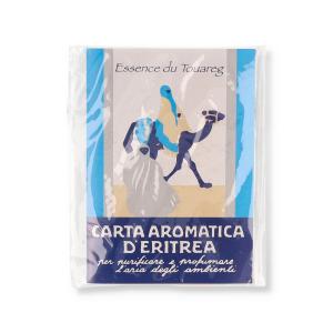CARTA AROMATICA D'ERITREA ESSENZA TOUAREG PER AMBIENTI 24 FOGLI