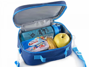 Lunch merenda box borsa frigo con tasca interna Spazio
