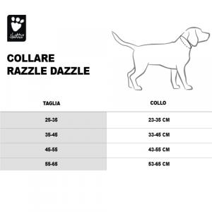 COLLARE RAZZLE DAZZLE 25-35 CM