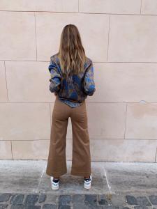 Pantalone Itaca culotte cropped Hanami D'or