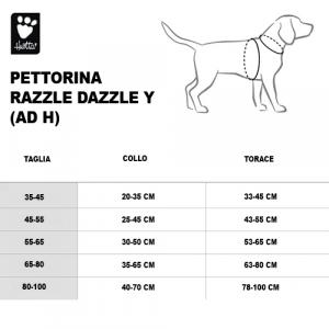 PETTORINA RAZZLE DAZZLE Y 80-100 CM