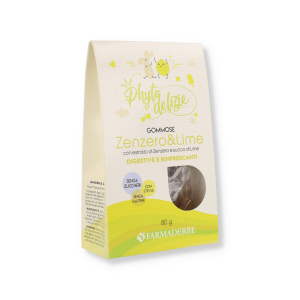 PHYTO DELIZIE GOMMOSE ZENZERO / LIME 80GR