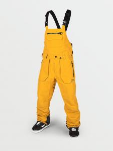 Volcom Snowboard Rain Gore Bib Overall Yellow