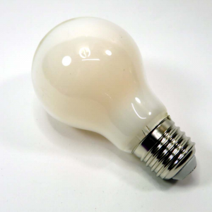 Lampada goccia led satinata e27 11w