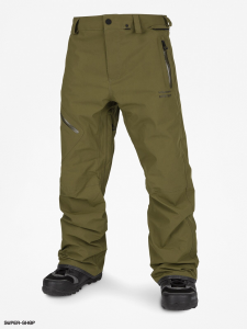 Pantaloni Snowboard Volcom L Gore-Tex Pant Green