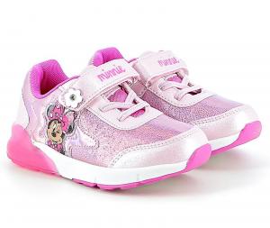 Scarpe Minnie con luci Bambina dal 24 al 32 Rosa Disney Autunno Inverno 2021 2022