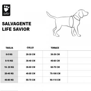 SALVAGENTE LIFE SAVIOR ARANCIONE